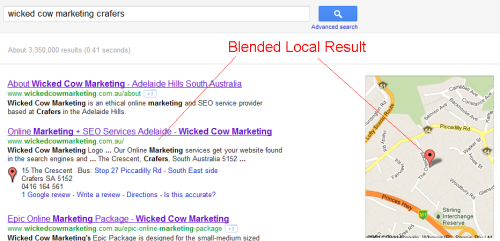 Local Search Optimisation Adelaide Hills