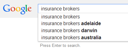 Insurance Broker SEO Analysis Australia
