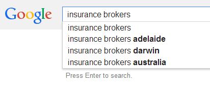 Insurance Broker SEO Analysis Australia