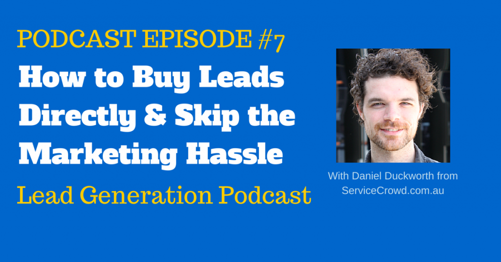 How to Buy Leads & Skip the Marketing Hassle
