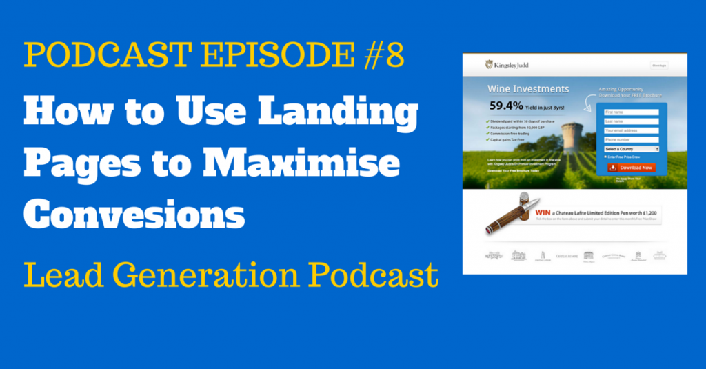 How to Use Landing Pages to Maximise Conversions